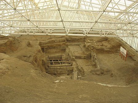 Sitio arqueologico de Catalhoyuk