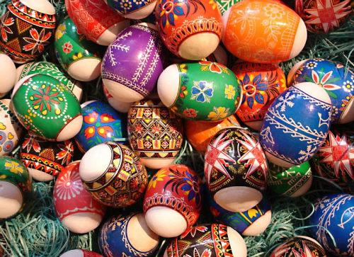 Huevos pintados en Nevruz