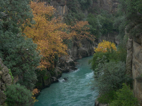 El hermoso Cañón Koprulu, parque nacional