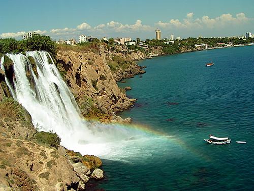 Cascada en Antalya