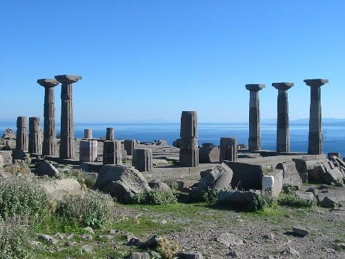 Las ruinas de Assos