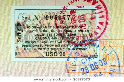 visa turquia