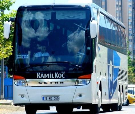 Los autobuses de Turquía