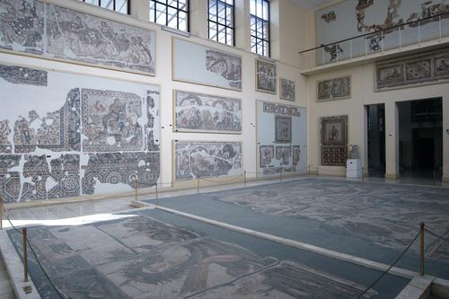 Los mosaicos del Museo Arqueológico de Antakia