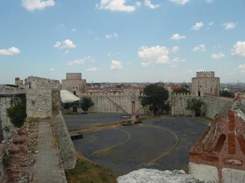 La Fortaleza Yedikule en Estambul
