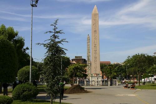 La plaza Sultán Ahmed de Estambul