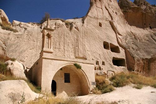Zelve, ciudad fantasma en Cappadocia