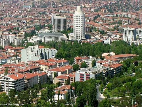 Recorrido por el distrito de Cankaya en Ankara